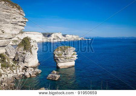 Views of Bonifacio in southern Corsica