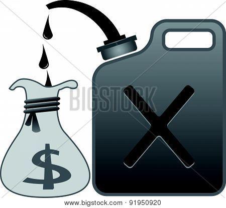 Oil, Petrol And Dolar