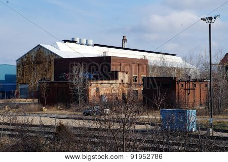 Abandoned Factory Buildings