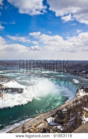 Niagara Falls during Winter