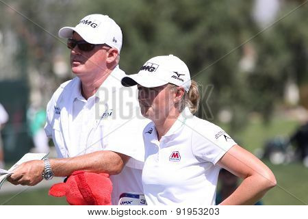 Stacy Lewis At The Ana Inspiration Golf Tournament 2015