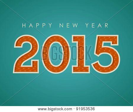 New year design over blue background vector illustration
