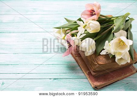 Background With Fresh Flowers
