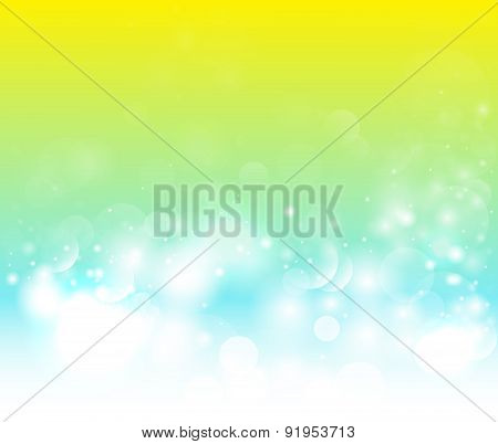 Abstract magical background