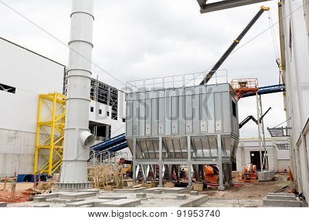 Waste Plant Outside Process Storage Methane Oil Organic
