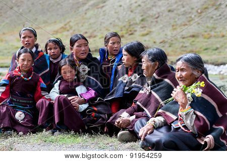 Nomadic people in Nepal