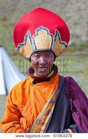 Tibetan Man In Dolpo, Nepal