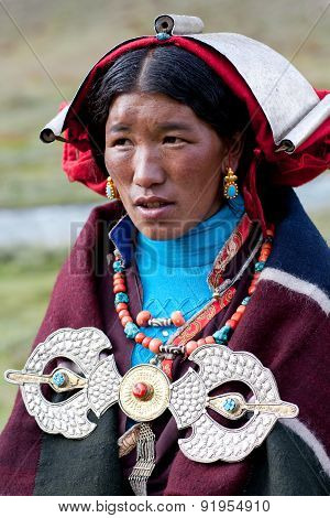 Tibetan People In Nepal