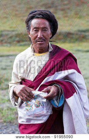 Tibetan Ngakpa In Dolpo, Nepal