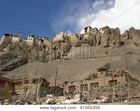Temple On The Cliff