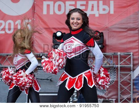 Cheerleaders Of Spartak Team