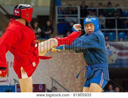 Ikram Aliskerov (r) Vs Jeon Yong Jun (b)