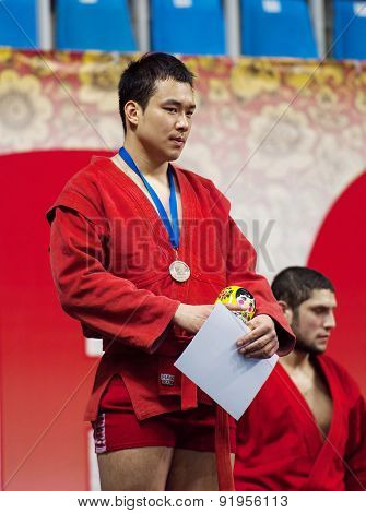 Gasimov Kanan On Podium