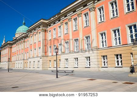 The rebuilt City Palace in Potsdam