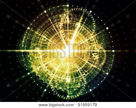 Sacred Geometry Burst