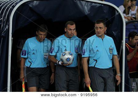 Metalist Vs. Krivbass Football Match