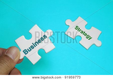 Business, Strategy Text - Business Concept