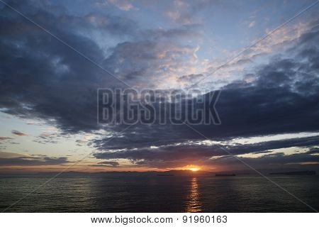 Clouds, The Sea And The Sun