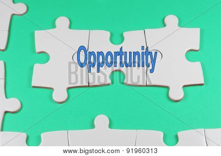 Opportunity Text - Business Concept