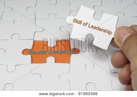 Situation Management - Leadership Concept