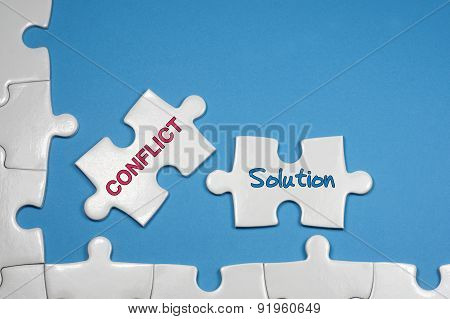 Conflict And Solution Tex - Business Concepts