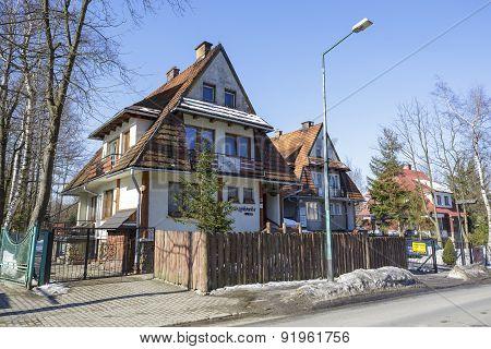 Villa Starzykowka In Zakopane, Poland