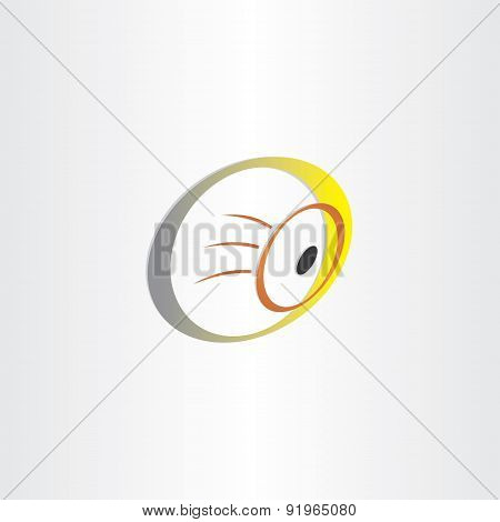 Human Eye Optics Symbol