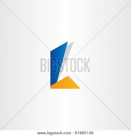 Letter L Symbol Design