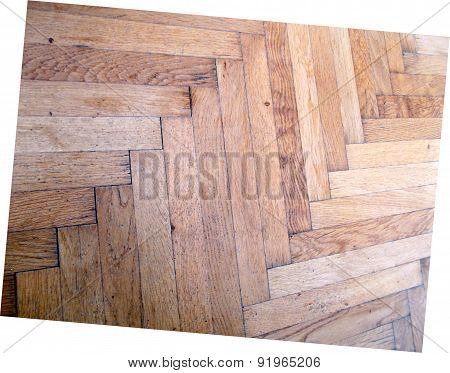 office wooden floor brown desk sun reflection shiny