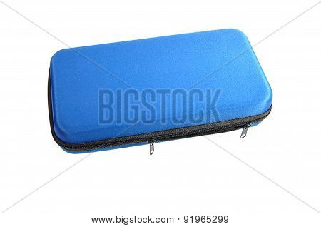 Blue Rotary Multitool Case With Zipper