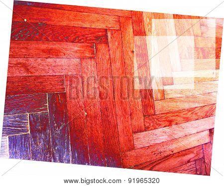 office wooden floor brown desk sun reflection shiny digital red purple furniture artistic