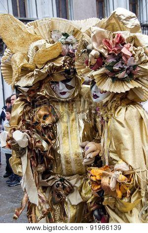 Traditional Venetian Carnival Mask