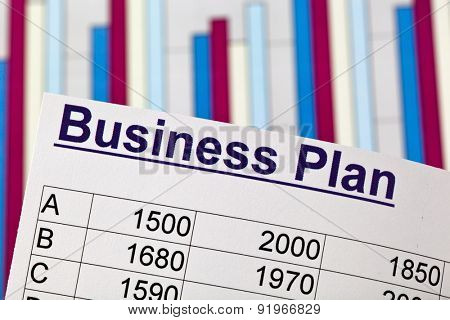 a business plan to start a business. ideas and strategies for business start-up.