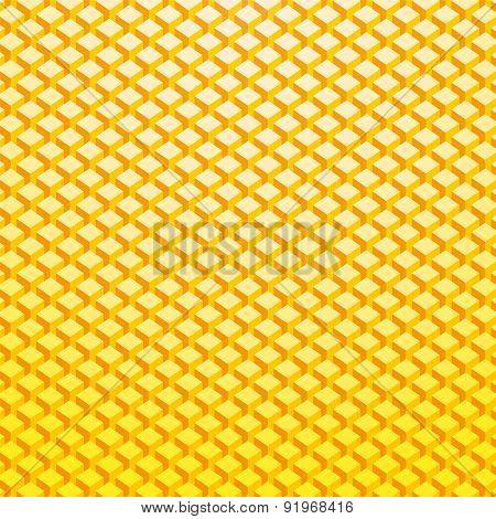 Light Yellow Gold Brick Background