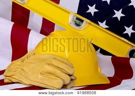 Construction Industry Business Usa American Made