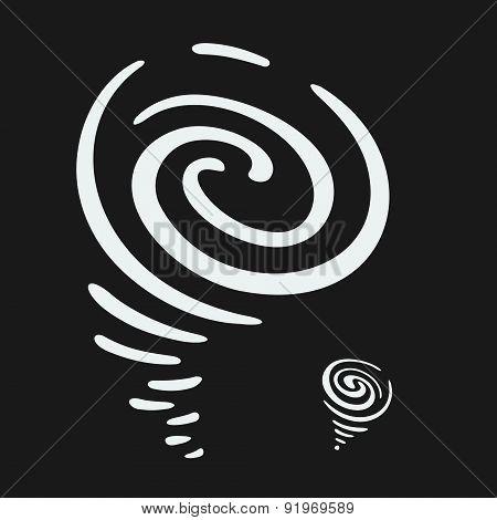 Vector Hurricane Symbol