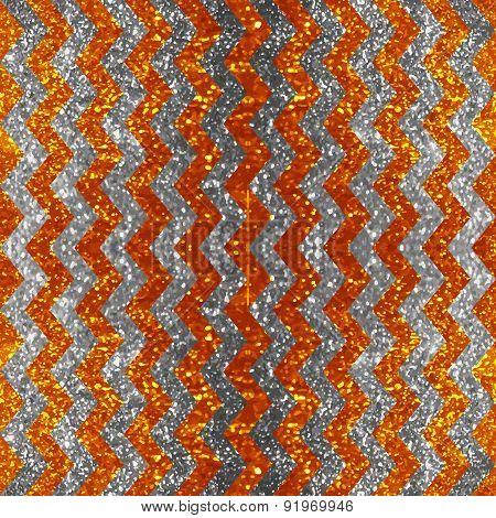 Seamless chevron glitter pattern