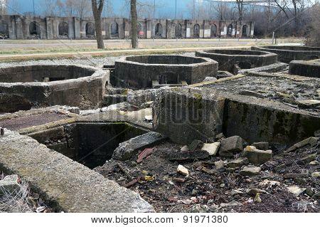 Ruins of Old Joliet Iron Works