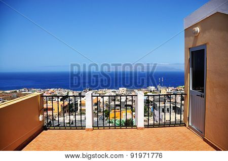 Terrace Over Sao Filipe