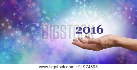 Welcome 2016 Celebration Banner