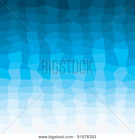 Water Geometrical Background