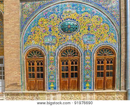 Golestan Palace windows