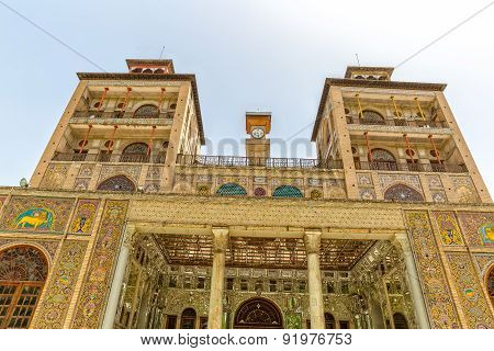 Golestan Palace Towers Edifice