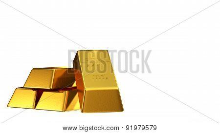 Set Of Gold Bars