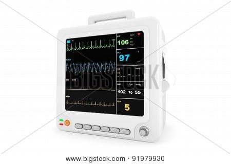 Health Care Portable Cardiac Monitoring Equipment