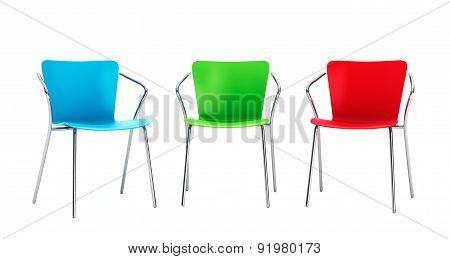 Colorful Plastic Chairs