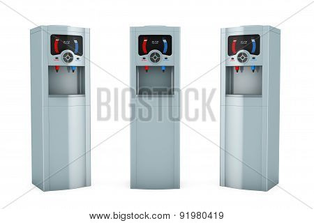 Three Electric Water Coolers