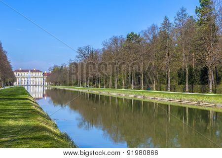 Historic Castle Schleissheim Near Munich