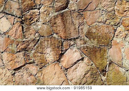 Wall From A Stone