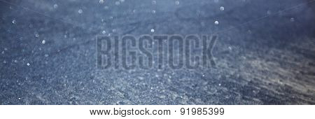 Abstract texture of black sand